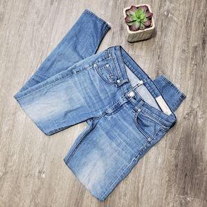 Rag & Bone * Light Wash Skinny Capri Jeans Sz 25
